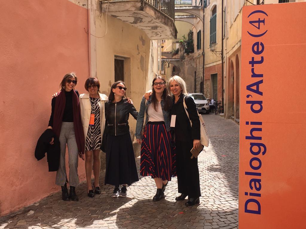 DIALOGHI D'ARTE 2019 – 4° giornata –  conversazioni e performance